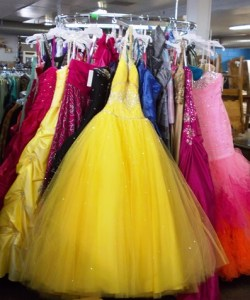 Fifty new prom dresses donated to Cross Lines Community Outreach     Fifty new prom dresses donated to Cross Lines Community Outreach