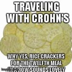 rice cracker meme