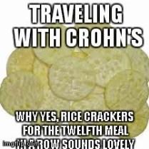 rice cracker meme