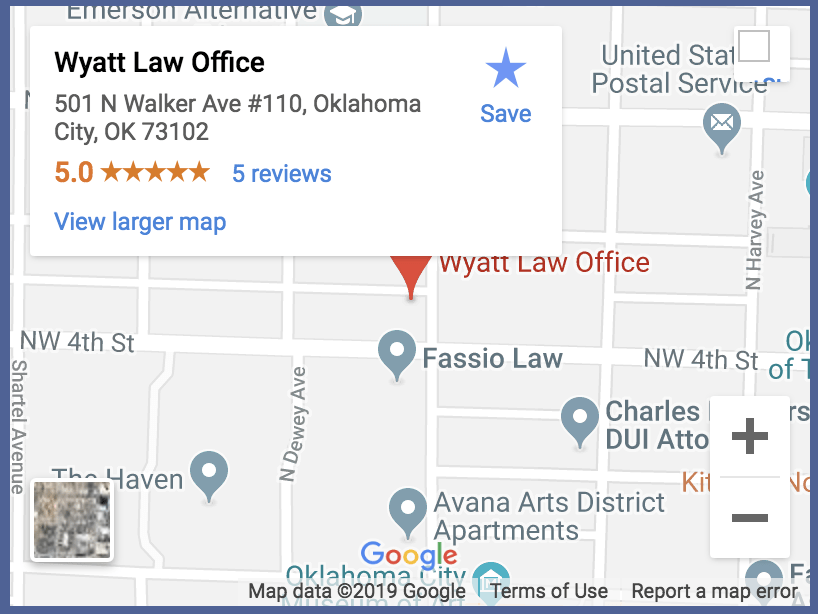 Oklahoma City Criminal Defense Attorneys | Wyatt Law Office