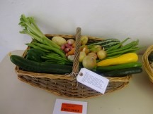 1st - Trug of vegetables - Sara Jane Arden