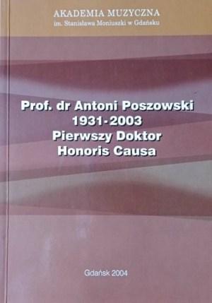 Poszowski - doktor honoris causa - okładka
