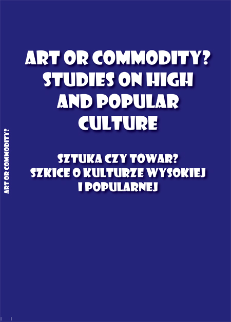 Art or Commodity? Studies on high and popular culture