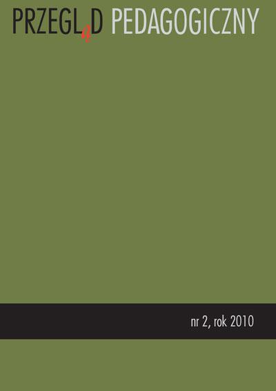 Przegląd Pedagogiczny nr 2/2010