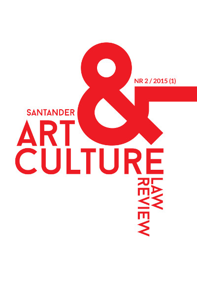 Santander Art and Culture Law Review, nr 2/2015