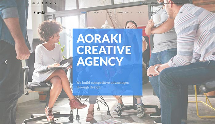 Aoraki - Creative Agency