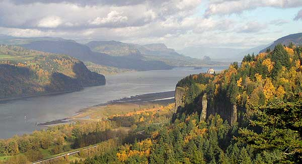 Crown Point from Women's Forum State Park - a threatened view?