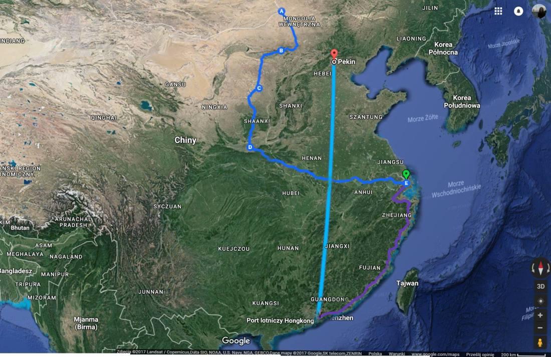 Trasa Chiny