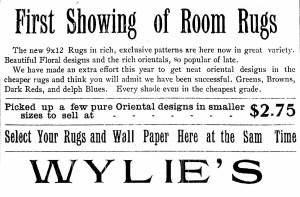 Flooring, Bloomington, History, Rugs, Carpet, Wylie's Floor Covering