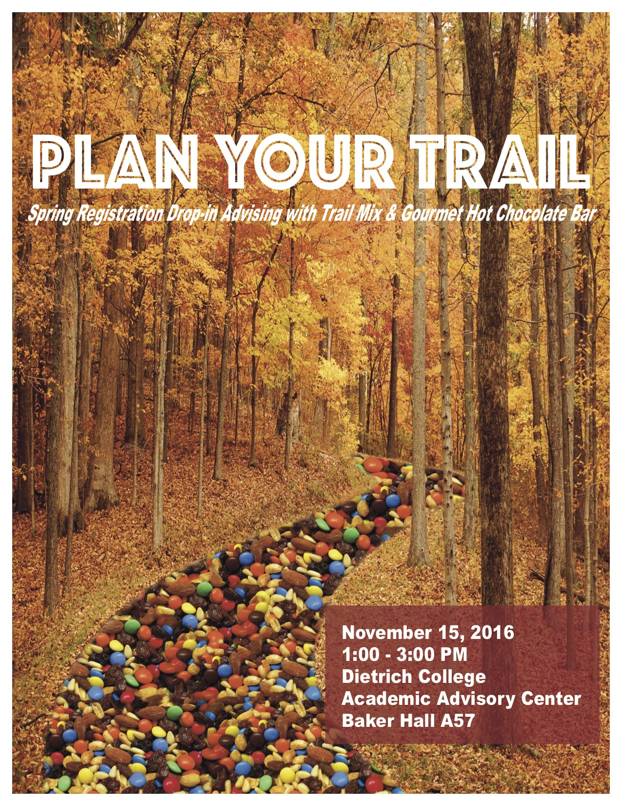 Plan Your Trail Poster