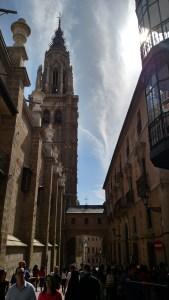 Street Scene in Toledo
