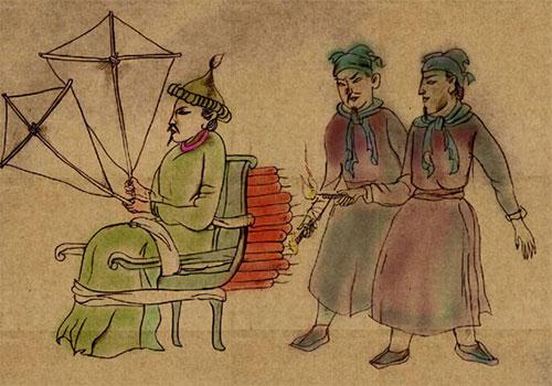 Znalezione obrazy dla zapytania rakiety chińskie w średniowieczu