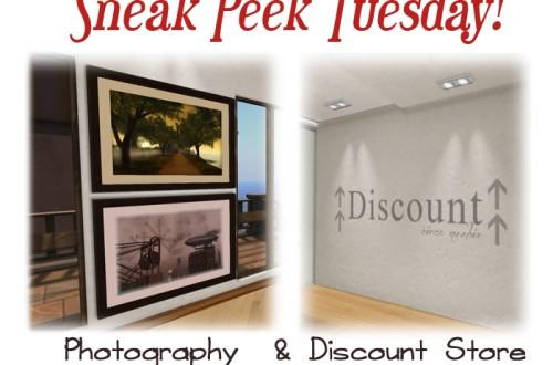 Photography gallery & Discount Store