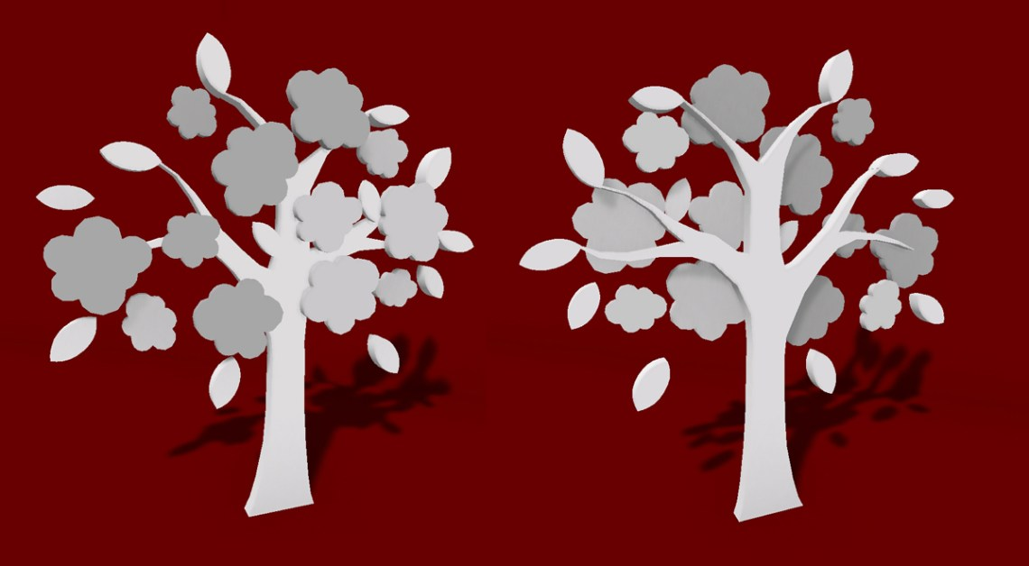 3ds max 3d cgi model asset The Popcorn Tree model Second Life