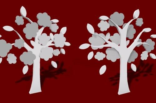 3ds max 3d cgi model asset The Popcorn Tree model Second Life