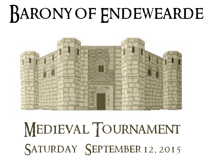 Barony of Endewearde Medieval Tournament, Saturday, September 12, 2015