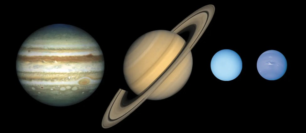 Gas planets