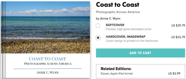 Cover of Coast to Coast photo book