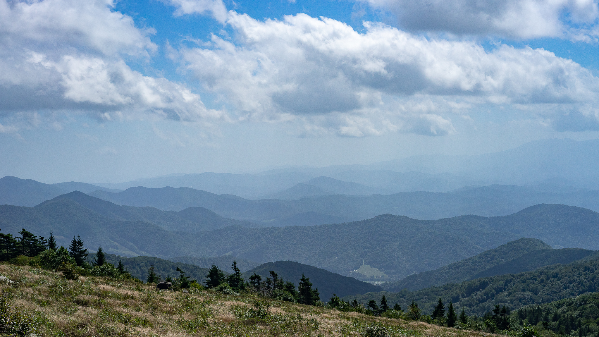 View from Carver's Gap