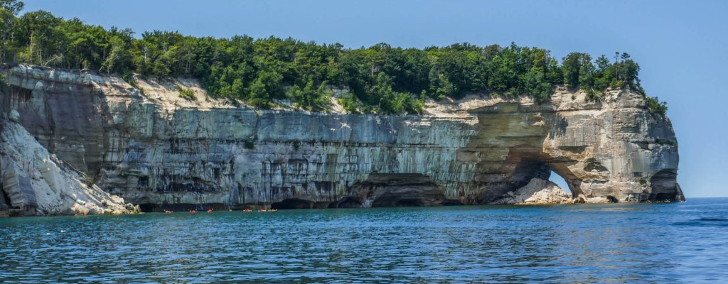 Pictured Rocks: Boat Cruise
