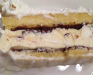 Baked alaska nice and plated