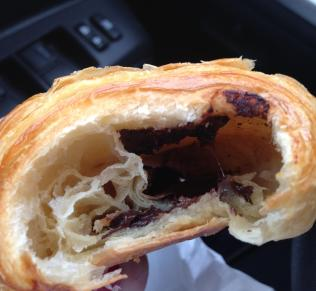 pain au chocolat more mess for the car