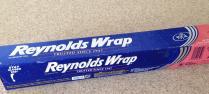 reynolds wrap old school tanning device