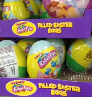 Robins eggs. My temptation