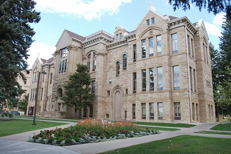 University of Wyoming Old Main