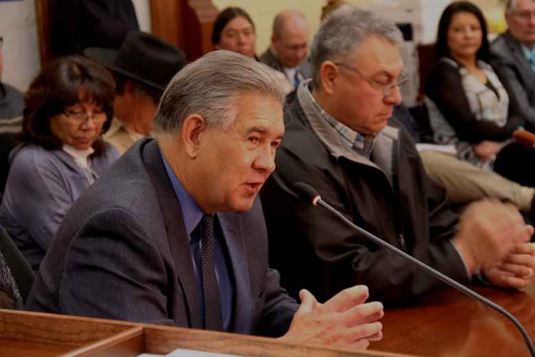 Northern Arapaho Business Council member, Richard Brannon