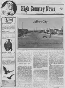 In Jeffrey City, Wyo., a 25-year-old boom town that lies in one of the most hostile environments in the country, the local union struggles to hold the town together amid layoffs caused by a downturn in the uranium industry.
