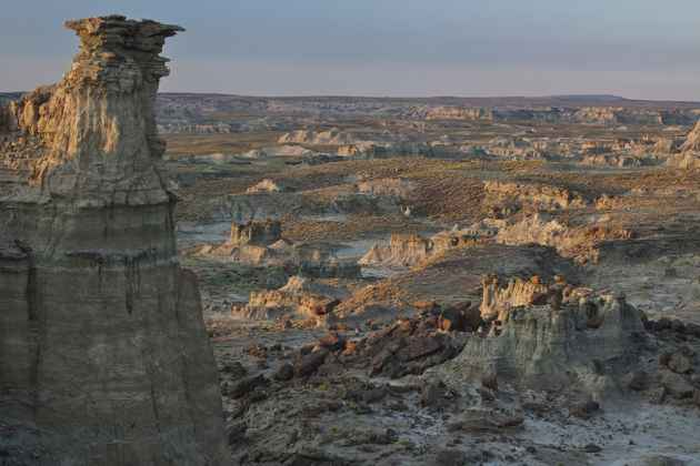 The Bureau of Land Management oversees the Adobe Town Wilderness Study Area south of Rawlins. The Wyoming Legislature recently joined several other western states in research to take over management of federal lands in the West. (BLM photo)