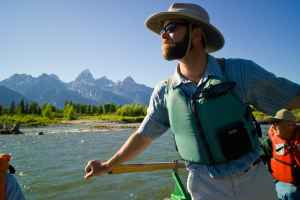 Jackson Town Councilman Jim Stanford works as a river guide in Grand Teton National Park and is sensitive about environmental issues, refusing to buy what he thought were wasteful yard signs for his first political campaign. Activists need to think about climate change every day and at all levels of the political spectrum, the vice president for sustainability at the Aspen Skiing Company told a conservation convention in Jackson last fall.
