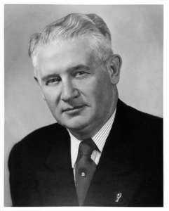 Lester C. Hunt was Wyoming's 19th governor, and was elected to the U.S. Senate in 1948. (Wyoming State Archives)
