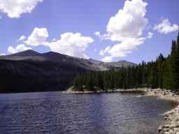 Kearney Reservoir, Big Horn Mountains. (courtesy Roy Holdeman)
