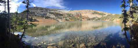 """West Glacier Lake and Browns Peak, Medicine Bow National Forest"" ( Jeff Phillips)"