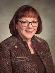 State Rep. Norine Kasperik (R — Gillette) represents Campbell County, the most coal-intensive region of Wyoming. Photo courtesy of the Wyoming Legislature.
