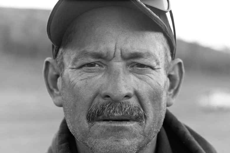Abel Gallegos, Snake River Valley Firefighters, SRV 10, Vale, Oregon. (Angus M. Thuermer Jr./Wyofile)