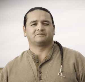 Jason Baldes, director of the Wind River Native Advocacy Center