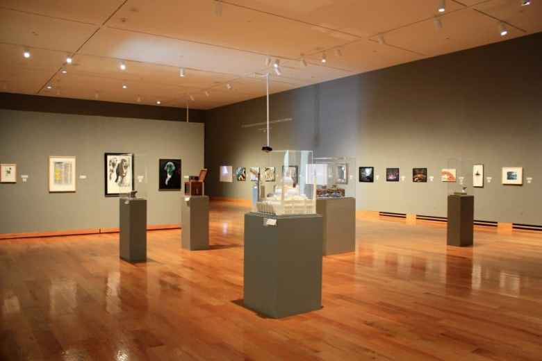 Artwork by 30 students can be seen at the UW Art Museum. The pieces comprise the 42nd Annual Juried University of Wyoming Student Exhibition. (Molly Bredehoft)