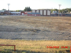 Lusk football field