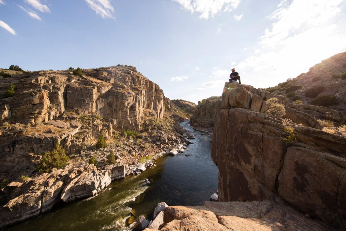 Fremont Canyon North Platte River