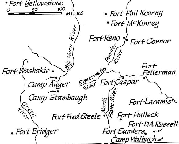 Forts in Wyoming