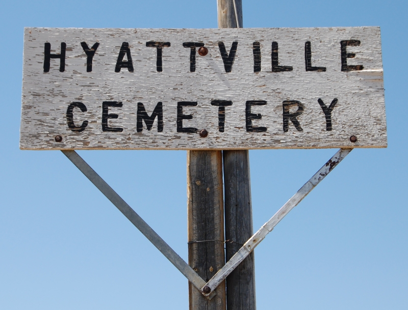 Hyattville Cemetery, Hyattville, Big Horn County, Wyoming