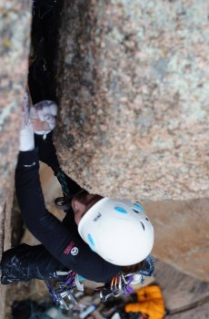 Hone your traditional climbing techniques with Wyoming Mountain Guides in Vedauwoo Recreation Area off Interstate 80 between Cheyenne and Laramie Wyoming