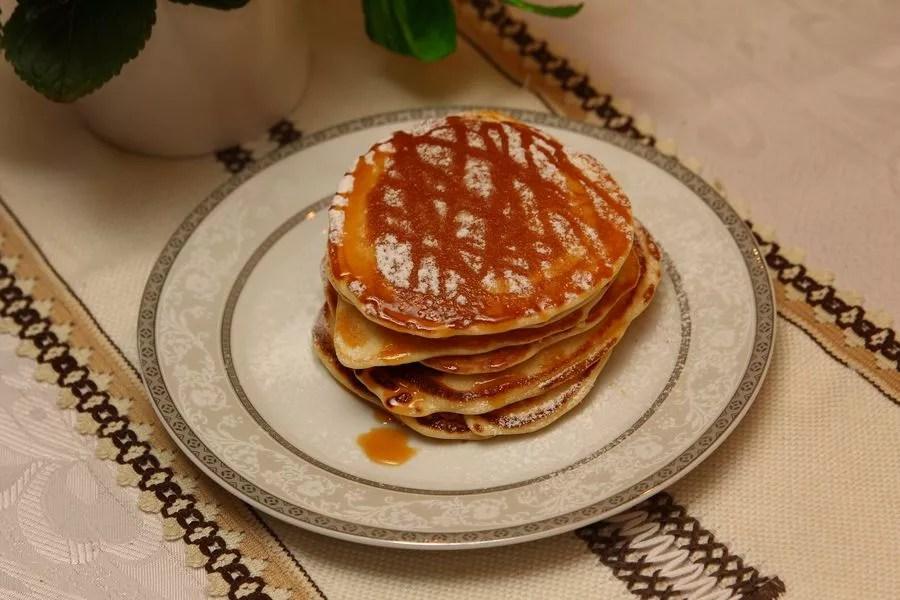 proste pancakes