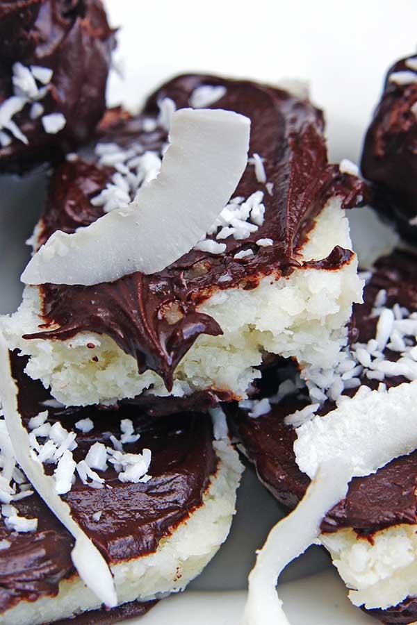 domowe batoniki kokosowe