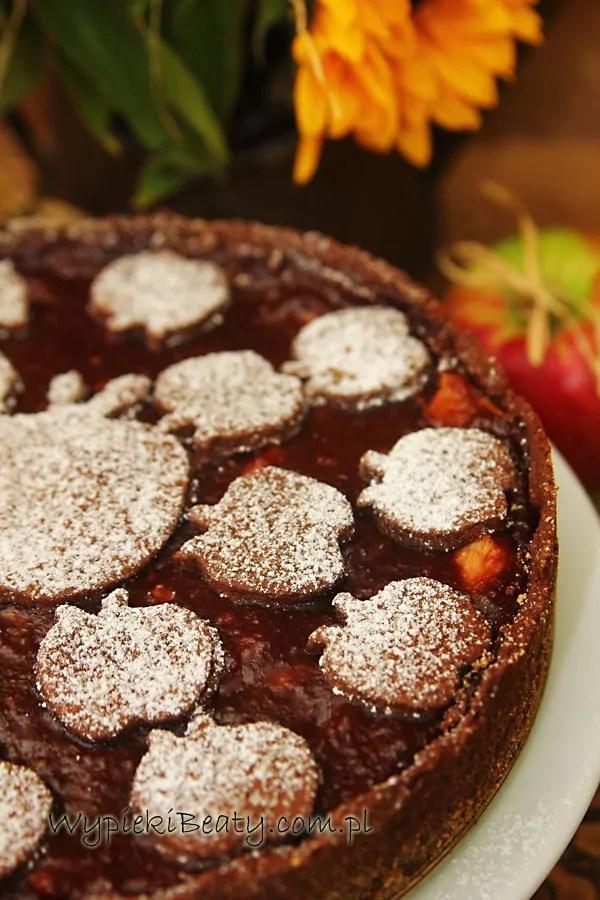 szarlotka czekoladowa 2