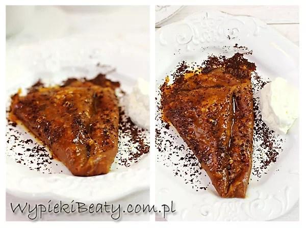 naleśniki Suzette czekoladowe