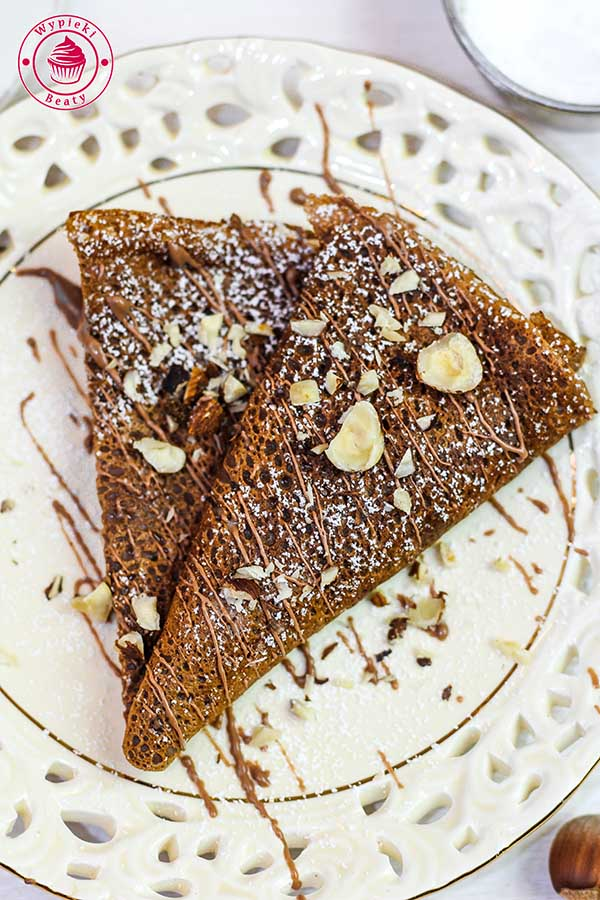 ciasto na naleśniki czekoladowe
